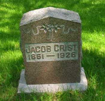 CRIST, JACOB - Marion County, Ohio | JACOB CRIST - Ohio Gravestone Photos