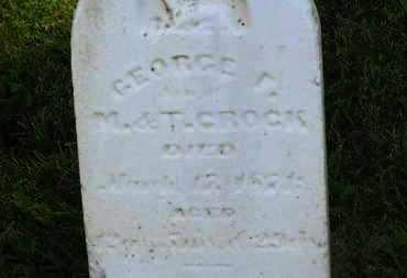 CROCK, M. - Marion County, Ohio | M. CROCK - Ohio Gravestone Photos