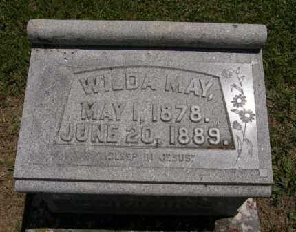 CUMMINS, WILDA MAY - Marion County, Ohio | WILDA MAY CUMMINS - Ohio Gravestone Photos