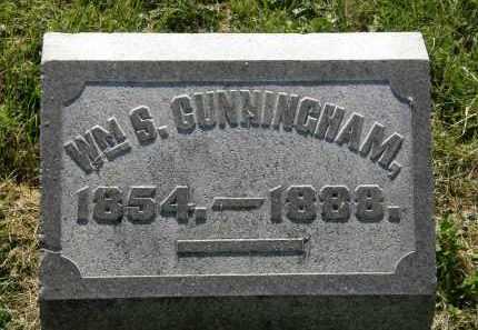 CUNNINGHAM, WM. S. - Marion County, Ohio   WM. S. CUNNINGHAM - Ohio Gravestone Photos