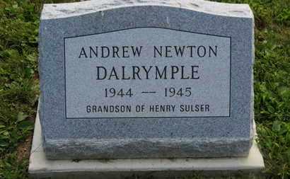 DALRYMPLE, ANDREW NEWTON - Marion County, Ohio | ANDREW NEWTON DALRYMPLE - Ohio Gravestone Photos