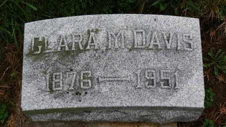 DAVIS, CLARA A. - Marion County, Ohio   CLARA A. DAVIS - Ohio Gravestone Photos