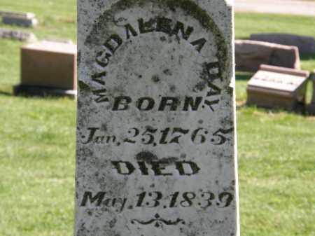 DAY, MAGDALENA - Marion County, Ohio | MAGDALENA DAY - Ohio Gravestone Photos