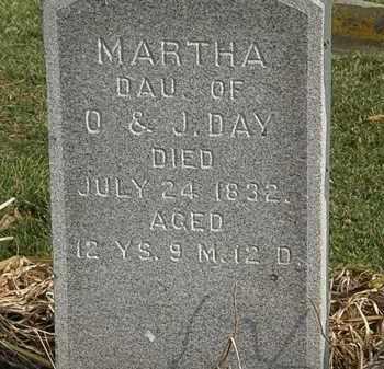 DAY, MARTHA - Marion County, Ohio | MARTHA DAY - Ohio Gravestone Photos