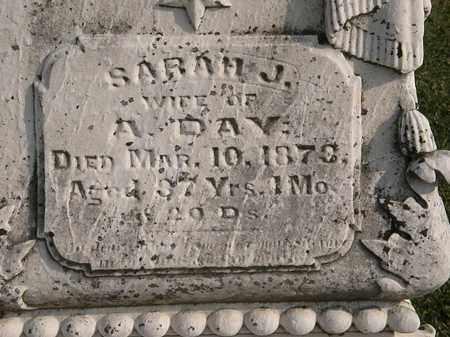 DAY, SARAH J. - Marion County, Ohio | SARAH J. DAY - Ohio Gravestone Photos