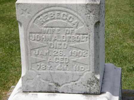 DE BOLT, JOHN A. - Marion County, Ohio | JOHN A. DE BOLT - Ohio Gravestone Photos