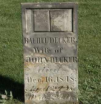 DECKER, JOHN - Marion County, Ohio | JOHN DECKER - Ohio Gravestone Photos