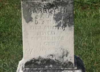 DELAUDER, C.D. - Marion County, Ohio   C.D. DELAUDER - Ohio Gravestone Photos