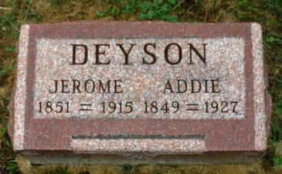 DEYSON, ADDIE - Marion County, Ohio   ADDIE DEYSON - Ohio Gravestone Photos