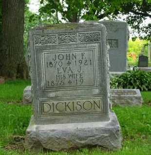 DICKISON, JOHN F. - Marion County, Ohio | JOHN F. DICKISON - Ohio Gravestone Photos