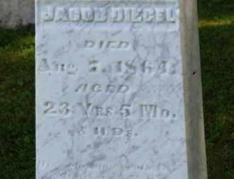 DIEGEL, JACOB - Marion County, Ohio | JACOB DIEGEL - Ohio Gravestone Photos