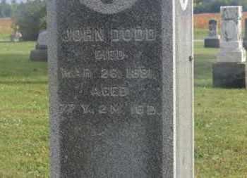 DODD, JOHN - Marion County, Ohio   JOHN DODD - Ohio Gravestone Photos