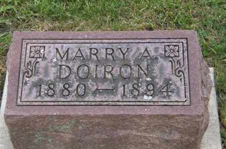 DOIRON, MARRY A - Marion County, Ohio   MARRY A DOIRON - Ohio Gravestone Photos
