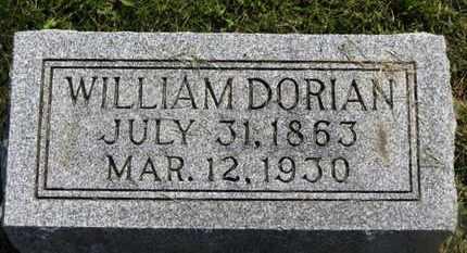 DORIAN, WILLIAM - Marion County, Ohio | WILLIAM DORIAN - Ohio Gravestone Photos