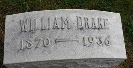 DRAKE, WILLIAM - Marion County, Ohio   WILLIAM DRAKE - Ohio Gravestone Photos