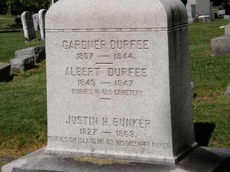 DURFEE, ALBERT - Marion County, Ohio | ALBERT DURFEE - Ohio Gravestone Photos