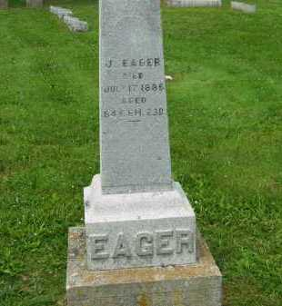 EAGER, J. - Marion County, Ohio | J. EAGER - Ohio Gravestone Photos