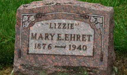"EHRET, MARY E. ""LIZZIE"" - Marion County, Ohio | MARY E. ""LIZZIE"" EHRET - Ohio Gravestone Photos"
