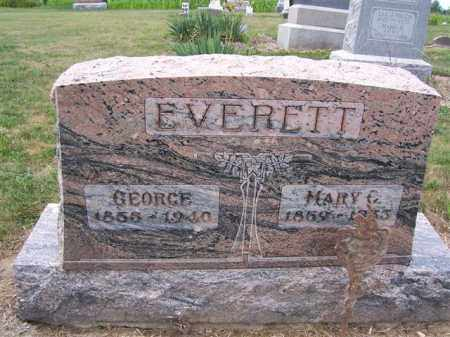 EVERETT, MARY C. - Marion County, Ohio | MARY C. EVERETT - Ohio Gravestone Photos