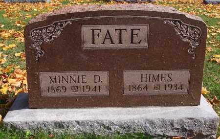 "KIGHTLINGER FATE, ARMINDA ""MINNIE"" - Marion County, Ohio | ARMINDA ""MINNIE"" KIGHTLINGER FATE - Ohio Gravestone Photos"