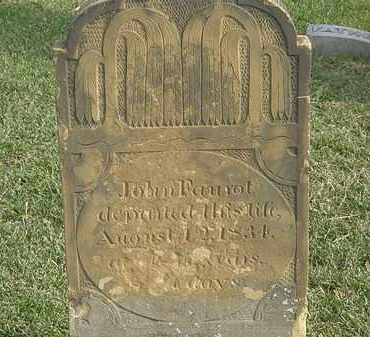 FAUROT, JOHN - Marion County, Ohio | JOHN FAUROT - Ohio Gravestone Photos