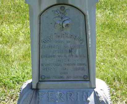 FERRIN, GUY  T. - Marion County, Ohio | GUY  T. FERRIN - Ohio Gravestone Photos