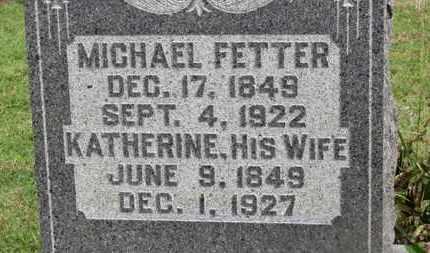 FETTER, MICHAEL - Marion County, Ohio | MICHAEL FETTER - Ohio Gravestone Photos