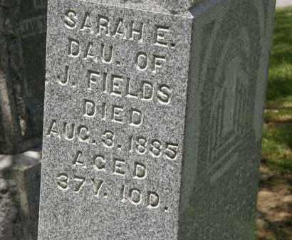FIELDS, J. - Marion County, Ohio | J. FIELDS - Ohio Gravestone Photos
