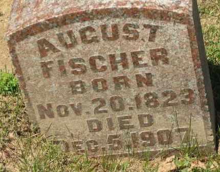 FISCHER, AUGUST - Marion County, Ohio   AUGUST FISCHER - Ohio Gravestone Photos