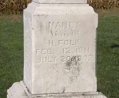 FOLK, H. - Marion County, Ohio | H. FOLK - Ohio Gravestone Photos