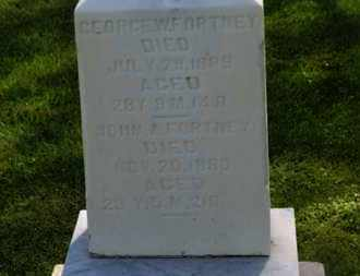 FORTNEY, JOHN A. - Marion County, Ohio | JOHN A. FORTNEY - Ohio Gravestone Photos