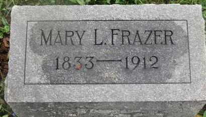 FRAZER, MARY L. - Marion County, Ohio   MARY L. FRAZER - Ohio Gravestone Photos