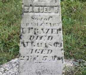 FRAZER, ADAM - Marion County, Ohio | ADAM FRAZER - Ohio Gravestone Photos