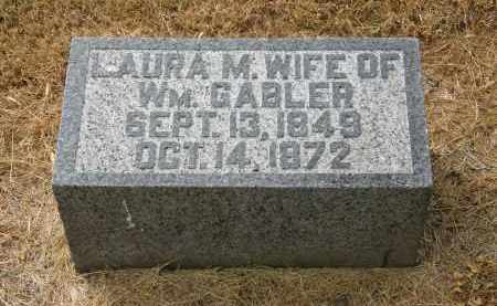 GABLER, WM. - Marion County, Ohio | WM. GABLER - Ohio Gravestone Photos
