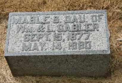 GABLER, L. - Marion County, Ohio   L. GABLER - Ohio Gravestone Photos