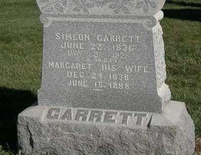 GARRETT, MARGARET - Marion County, Ohio | MARGARET GARRETT - Ohio Gravestone Photos