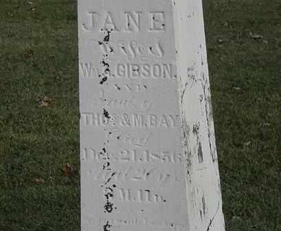 GIBSON, WM. - Marion County, Ohio | WM. GIBSON - Ohio Gravestone Photos