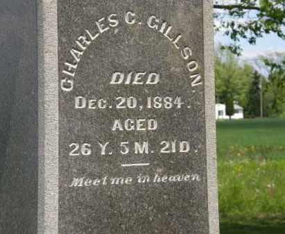 GILLSON, CHARLES C. - Marion County, Ohio | CHARLES C. GILLSON - Ohio Gravestone Photos