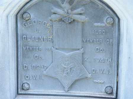 GLAUNER, GEORGE J. - Marion County, Ohio | GEORGE J. GLAUNER - Ohio Gravestone Photos