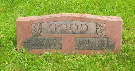 RAWLINS GOOD, MABEL HULDA - Marion County, Ohio | MABEL HULDA RAWLINS GOOD - Ohio Gravestone Photos