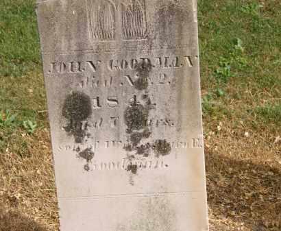 GOODMAN, JOHN - Marion County, Ohio | JOHN GOODMAN - Ohio Gravestone Photos