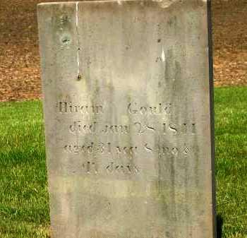 GOULD, HIRAM - Marion County, Ohio   HIRAM GOULD - Ohio Gravestone Photos