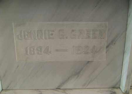 READING GREEN, JENNIE - Marion County, Ohio | JENNIE READING GREEN - Ohio Gravestone Photos