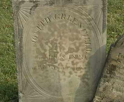 GREENFIELD, JOSEPH - Marion County, Ohio | JOSEPH GREENFIELD - Ohio Gravestone Photos