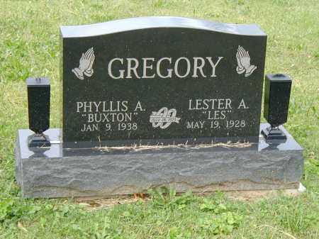 GREGORY, PHYLLIS - Marion County, Ohio   PHYLLIS GREGORY - Ohio Gravestone Photos