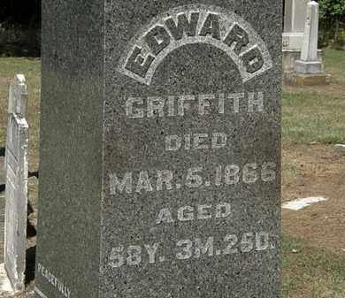 GRIFFITH, EDWARD - Marion County, Ohio   EDWARD GRIFFITH - Ohio Gravestone Photos