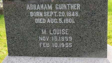 GUINTHER, ABRAHAM - Marion County, Ohio | ABRAHAM GUINTHER - Ohio Gravestone Photos