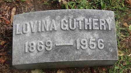 GUTHERY, LOVINA - Marion County, Ohio | LOVINA GUTHERY - Ohio Gravestone Photos