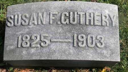 GUTHERY, SUSAN F. - Marion County, Ohio | SUSAN F. GUTHERY - Ohio Gravestone Photos