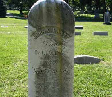 HANEY, JOHN D. - Marion County, Ohio | JOHN D. HANEY - Ohio Gravestone Photos